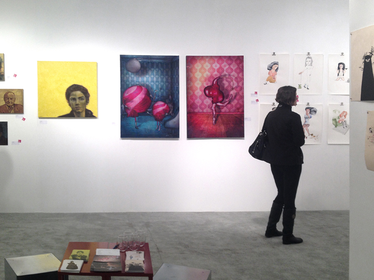 Group exhibition Affordable Art Fair – Seattle – USA from 7 to 10 November 2013