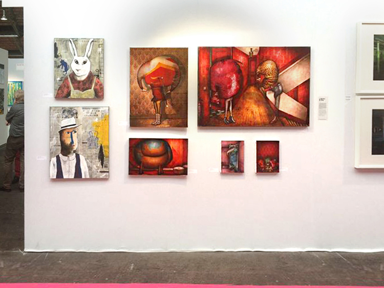 Group exhibition Affordable Art Fair in Brussels – Belgium from 6 to 10 February 2014