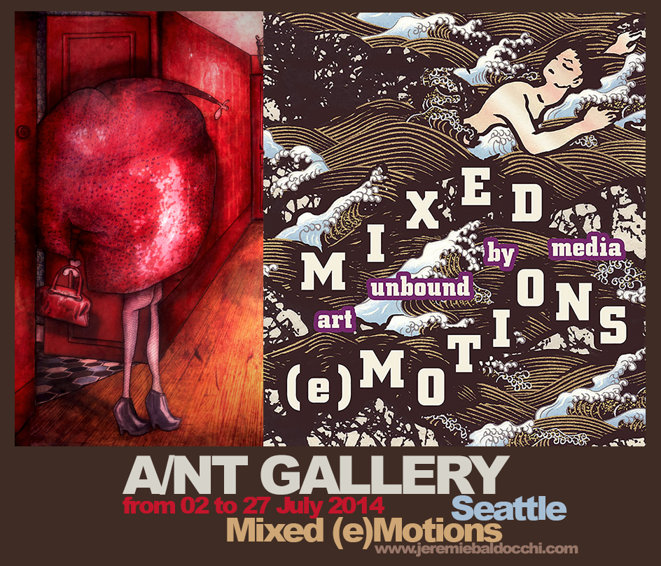 Group exhibition: A/NT Gallery – Seattle – USA from 02 to 27 July 2014