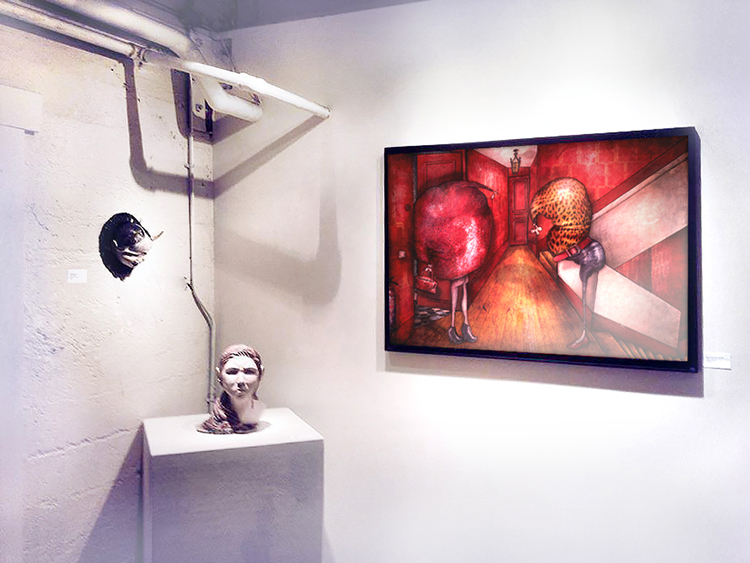 Group exhibition A/NT Gallery – Seattle – USA from 02 to 27 July 2014