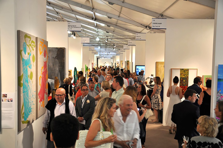 Group exhibition ArtHamptons Art Fairs – Bridgehampton – New York from 10 to 13 July 2014