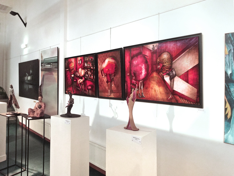 Group exhibition ADAC – Châtillon – France from 04 to 16 October 2014
