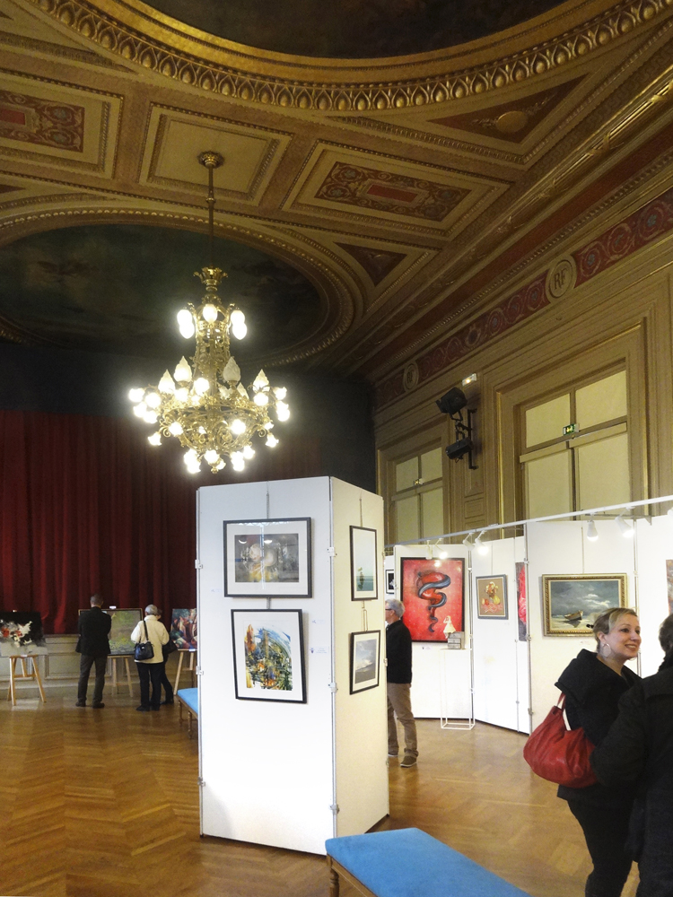 Group exhibition City Hall's 6th district – Paris – France from 17 to 26 November 2014