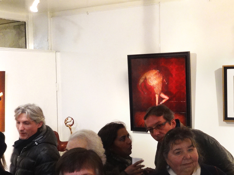 Group exhibition Gallery Thuillier – Paris – France from 03 to 26 Febrary 2015