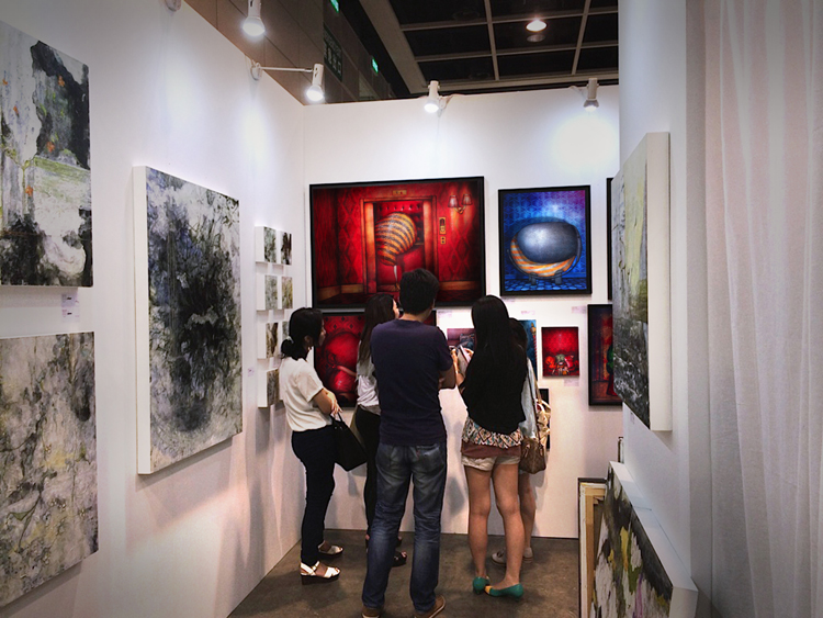 Group exhibition Affordable Art Fair – Hong kong – China from 22 to 24 May 2015