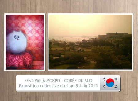 Group exhibition: Art Fairs in Mokpo South Korea from 4 to 8 June 2015