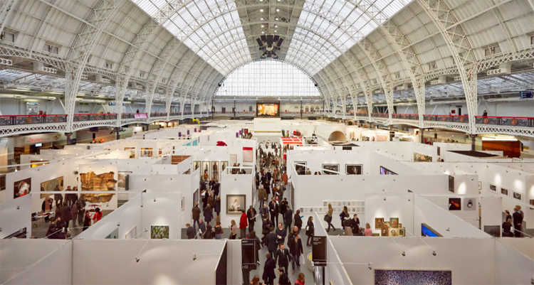 Group exhibition Affordable Art Fair – London – England from 11 to 14 June 2015