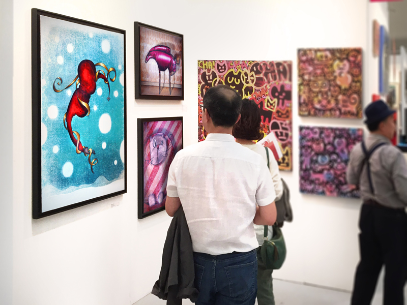Group exhibition Affordable Art Fair – Seoul – South Korea from 11 to 13 September 2015