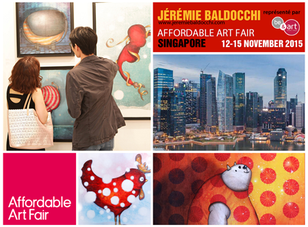 Group exhibition: Affordable Art Fair – Singapore – Asia from 12 to 15 November, 2015