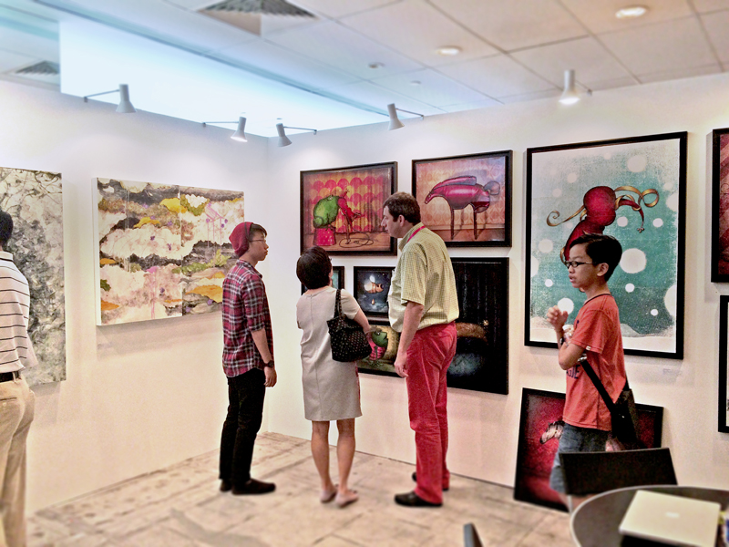 Group exhibition Affordable Art Fair – Singapore – Asia from 12 to 15 November, 2015
