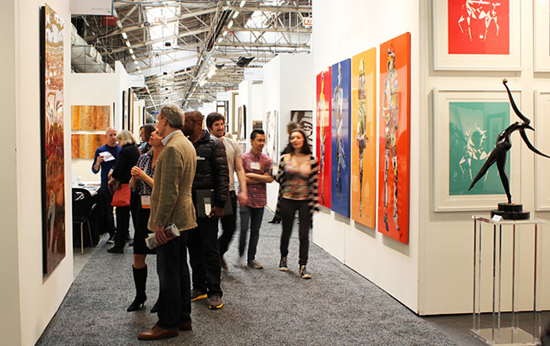 Group exhibition Artfair ArtExpo New-York – USA from 14 to 17 April 2016