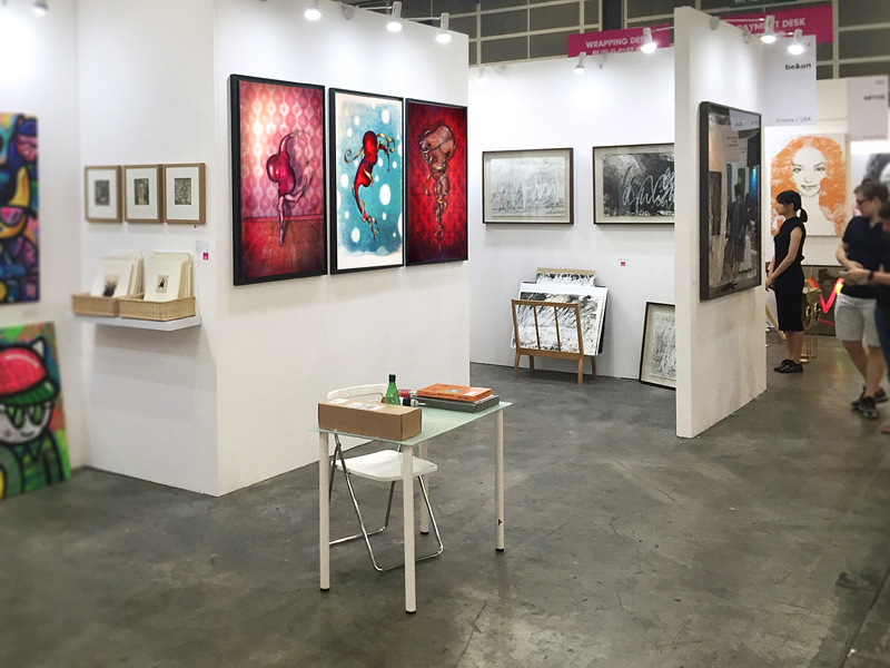 Group exhibition Affordable Art Fair – Hong kong – China from 13 to 15 May 2016