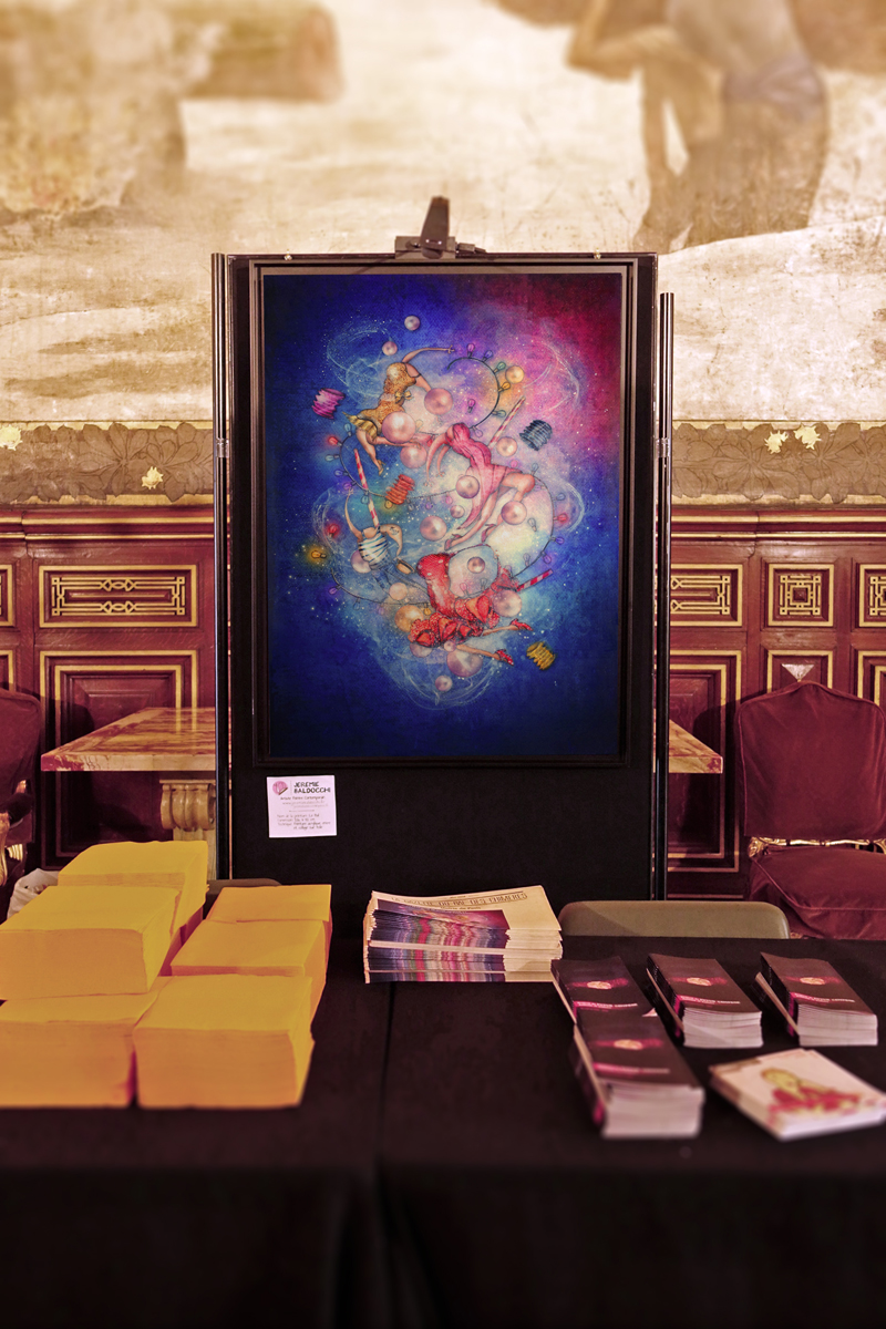 Group exhibition Paris City Hall (Exhibition and Poster) – France the May 17, 2016