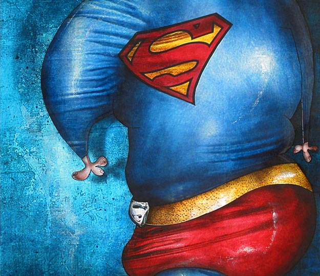 Contemporary Painting: Superman