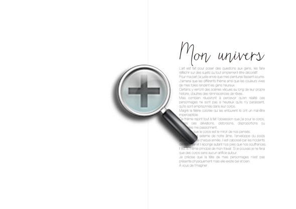 Page du livre Nuages et Fantaisies
