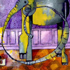 Artwork:Elephant painted