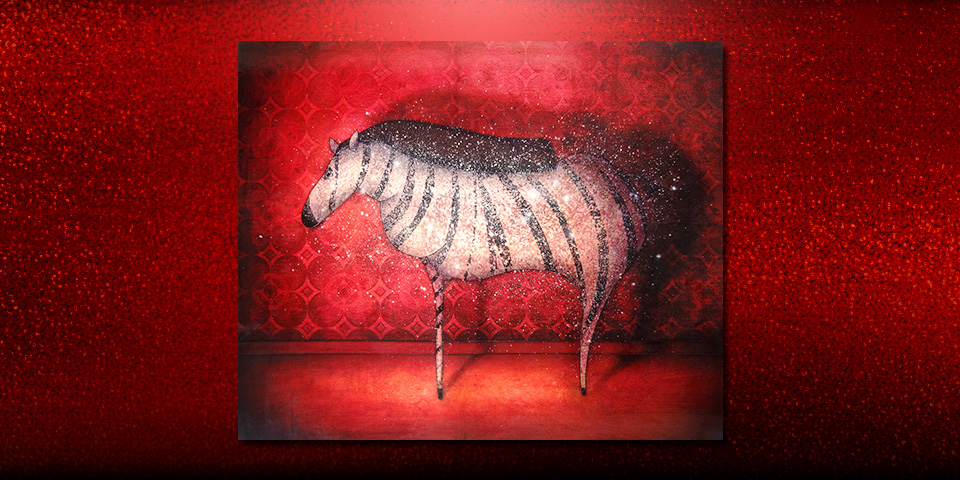 Artwork: Evening Zebra