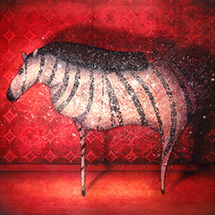 Artwork:Evening Zebra