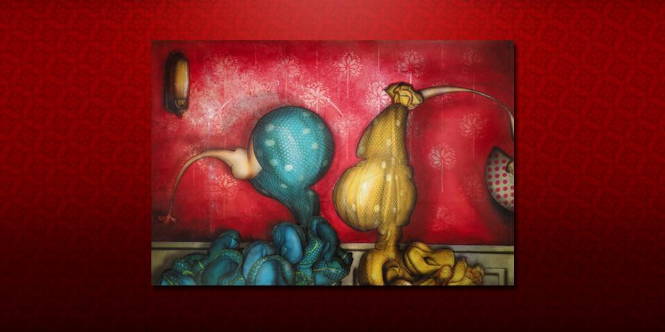 Artwork: Two Sevillanas