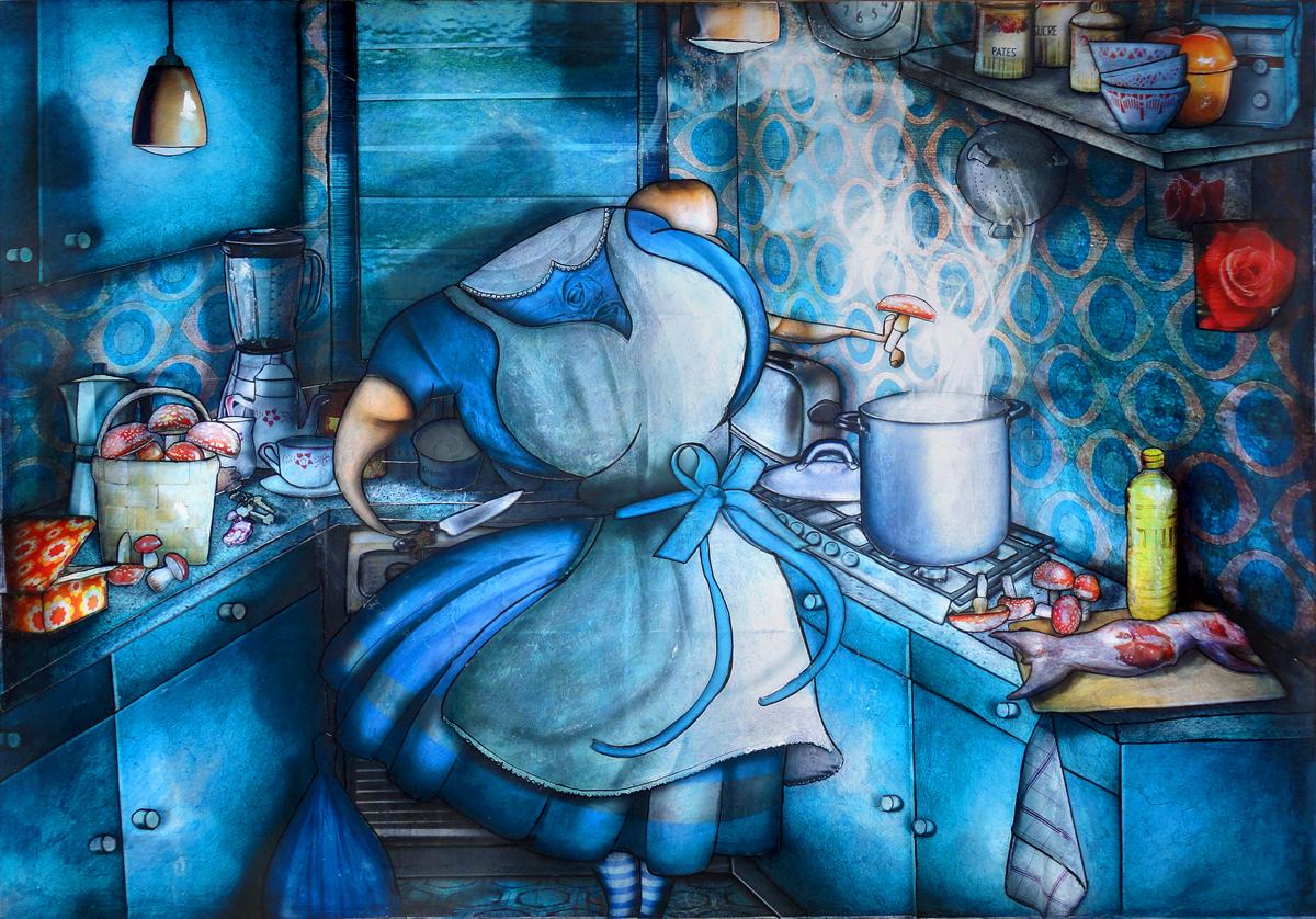 Artwork: The stars are ordinary people: Alice