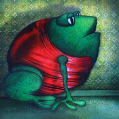 Artwork:Evening Frog