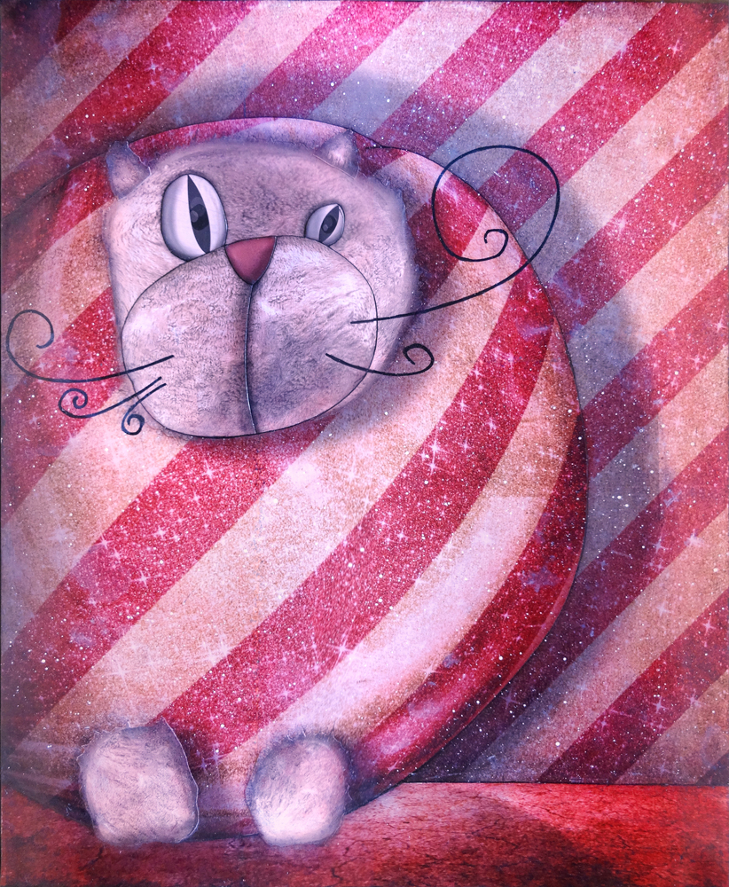 Artwork: Packaged cat