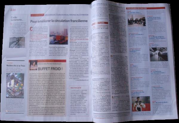 The newspaper of Forum des Halles