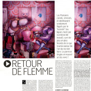 Illustration for the newspaper A nous Paris
