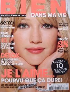 Newspaper article Bien dans ma vie