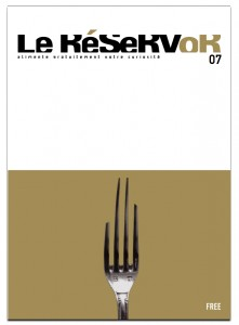 Published paint newspaper Le Reservoir