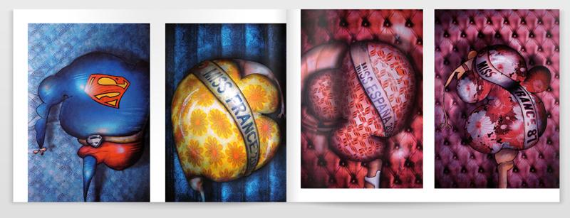 My paintings in platform-Magazine