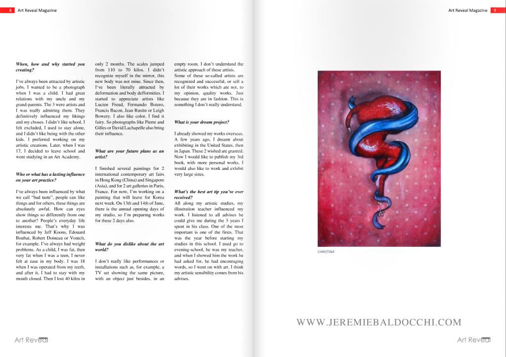 Contempory Art Magazine