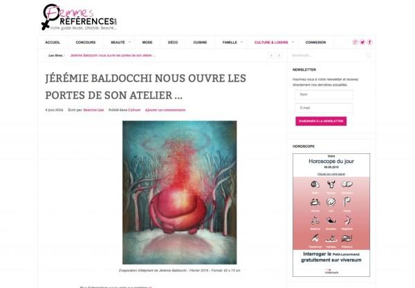 Website Femmes Références